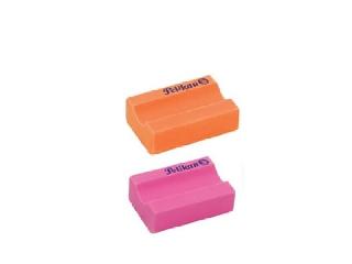 Radír 2 db Neon - ceruzatartós forma, narancs és rózsaszín