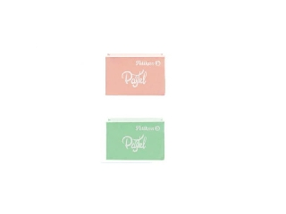 Radír -  2 db Pastell - narancs és zöld