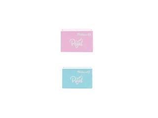 Radír -  2 db Pastell - rózsaszín és türkiz