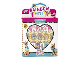 Rainbow pets - matricaszett