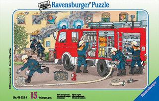 Ramapuzzle Tűzoltó  15 darabos