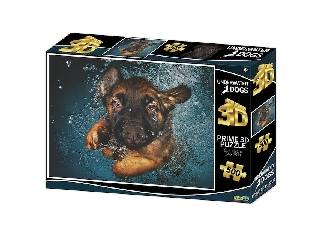 Búvár kutyus Ramona  3D puzzle, 500 darabos