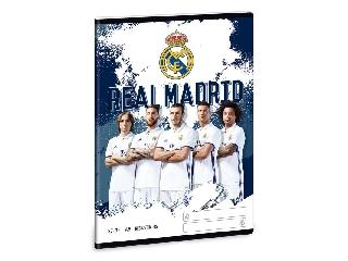 Real Madrid A/5 négyzethálós füzet