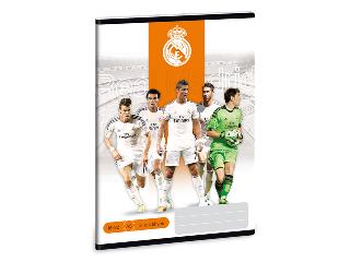 Real Madrid A/5-ös 2. oszt. vonalas füzet