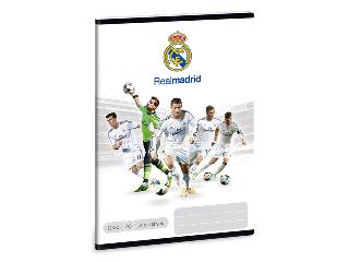 Real Madrid A/5-ös 3. oszt. vonalas füzet
