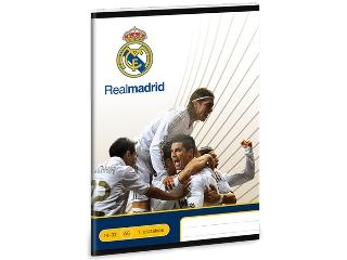 Real Madrid I.oszt. A/5-ös vonalas füzet