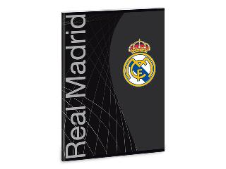 Real Madrid kockás füzet A/5