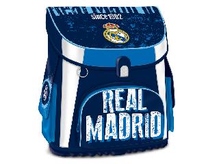 Real Madrid kompakt easy mágneszáras iskolatáska + ajándék Activity Family társasjáték