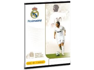 Real Madrid Mesut Özil I.oszt. A/5-ös vonalas füzet
