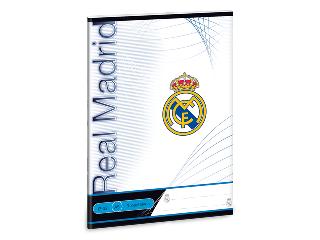 Real Madrid 3. osztályos vonalas füzet A/5 12-32