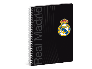 Real Madrid sima spirál füzet A/4