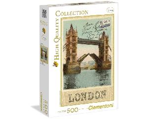Régi képeslap Londonból 500 db-os puzzle