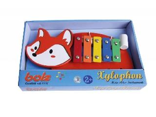 Rókás játék xilofon