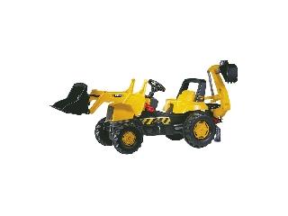 Rolly Junior JCB pedálos markolós traktor exkavátorral