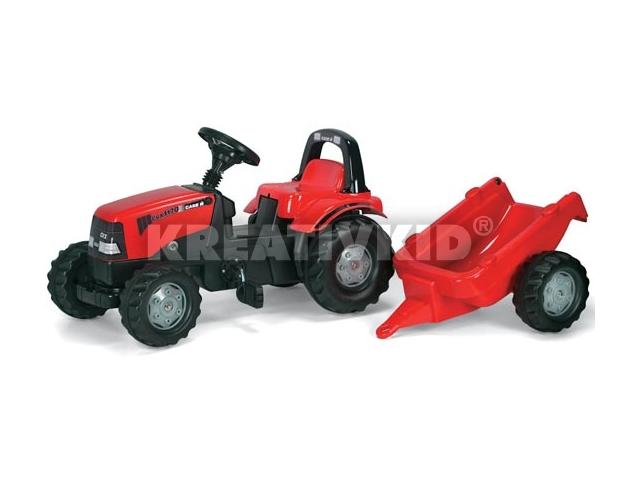 Rolly Toys Case traktor + utánfutó