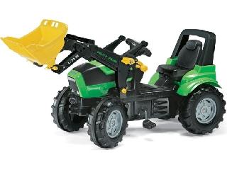 Rolly Toys Deutz Agrotron markolós traktor