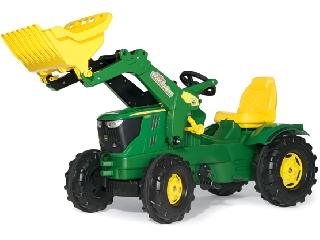 Rolly Toys John Deere 6210R markolós traktor