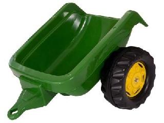 Rolly Toys John Deere Kid utánfutó - zöld
