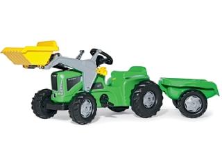 Rolly Toys Kiddy Futura utánfutós traktor