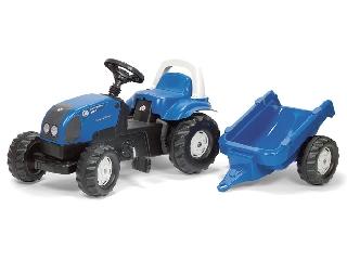 Rolly Toys Landini traktor + utánfutó