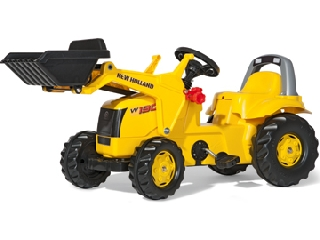 Rolly Toys New Holland markolós traktor - sárga
