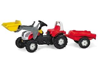 Rolly Toys Steyr traktor markolóval