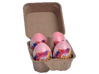 Safiras Neon Princess sárkányok tojásban 4db-os