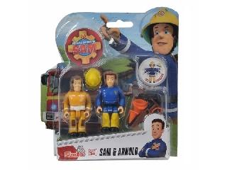 Sam a tűzoltó figurák: Sam és Arnold