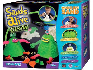 Sands Alive Glow - Világító szörnyecskék