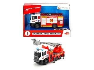 Scania tűzoltóautó - 17 cm - kétféle