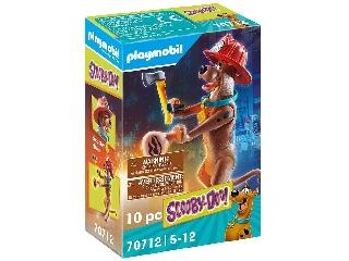 Scooby-Doo! Gyűjthető figura: Tűzoltó