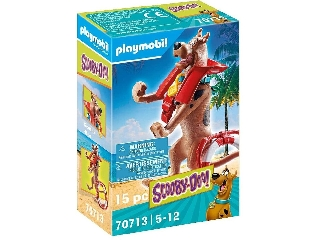 Scooby-Doo! Gyűjthető figura: Vízimentő