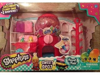 Shopkins S4 nagy szet- édesség bolt