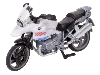 BMW R1200GS rendőrmotor 1:87