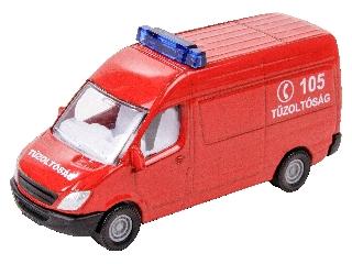 Mercedes-Benz tűzoltó kisbusz 1:87