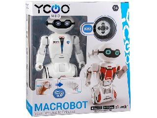 Silverlit MacroBot interaktív robot fehér