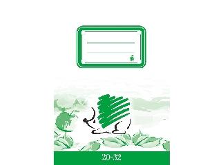 Sima füzet a/5 20-32 Ico süni