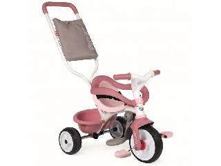 Smoby: Be Move Comfort szülőkaros tricikli - pink