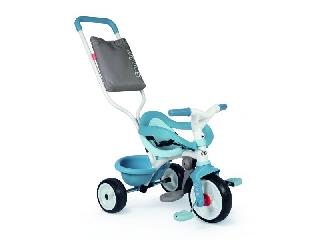 Smoby: Be Move Comfort szülőkaros tricikli - világos kék