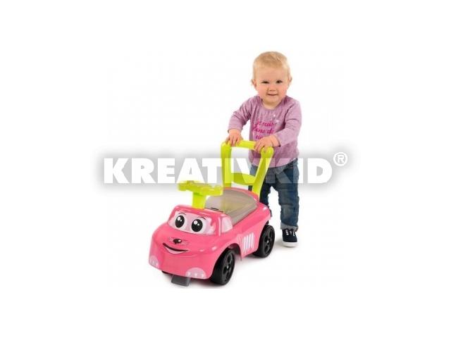Smoby: bébitaxi - rózsaszín