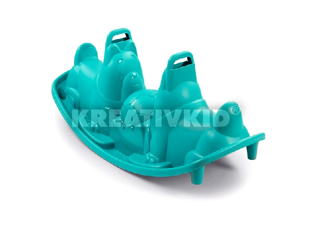 Smoby: Kutya formájú 2 személye libikóka - kék