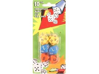 Sokoldalú dobókocka 6 darabos készlet