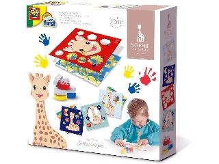 Sophie a zsiráf - kézzelfestő kártyák