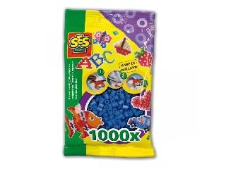 Sötétkék gyöngy 1000 db