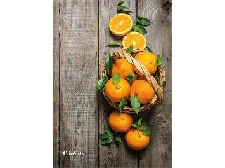 Spirálfüzet, A4, kockás, 80 lap, VICTORIA narancs