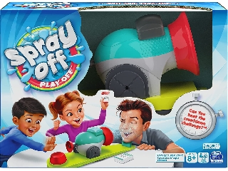Spray off Play off-Lődd le! társasjáték
