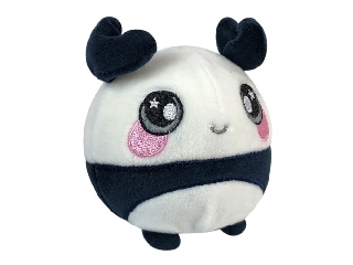 Squeezamals - közepes méretű plüss: Panda