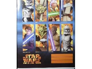 Star Wars I.oszt. A/5-ös vonalas füzet