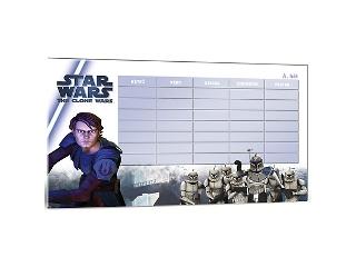 Star Wars kétoldalú órarend