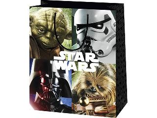 Star Wars mintás álló dísztasak - 40 x 20 x 55 cm
